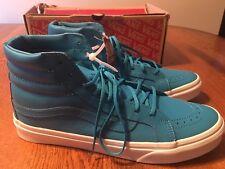 67f66bd322 item 8 Vans Sk8 Hi Slim Skate Neon Blue Leather Shoes Men s 5.5 (Women s 7)  NIB! -Vans Sk8 Hi Slim Skate Neon Blue Leather Shoes Men s 5.5 (Women s 7)  NIB!