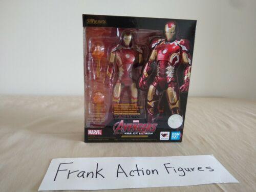 Authentic S.H Figuarts Iron Man Mark XLIII MK 43 Marvel Age of Ultron AOU New