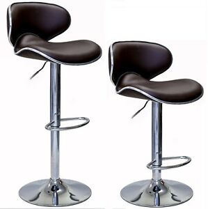 Superb Details About Oasis Swivel Leather Adjustable Hydraulic Bar Stool Set Of 2 Pabps2019 Chair Design Images Pabps2019Com