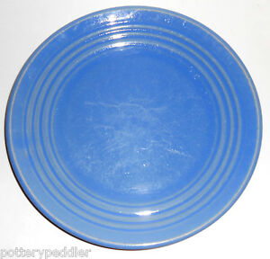 Bauer-Pottery-Ring-Ware-Delph-9-3-8-034-Plate-BUY-IT-NOW
