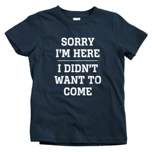 Baby Toddler Youth Tee Gift Funny Introvert Part Sorry I/'m Here Kids T-shirt