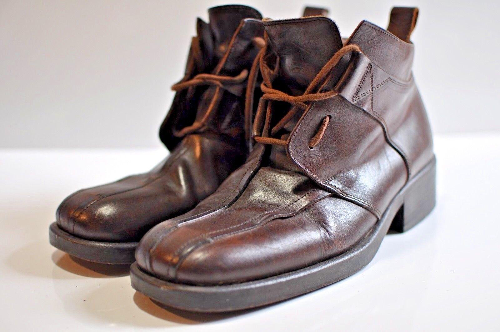 Da Vinci Mens leather stivali Dimensione 43 made in