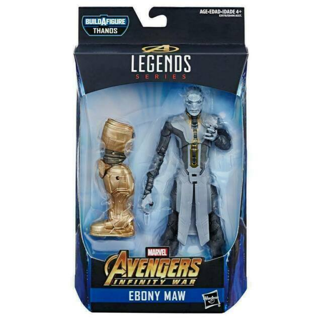 Marvel Leyendas Tacho Thanos serie Ébano Maw Nuevo