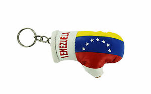 Keychain Mini boxing gloves key chain ring flag key ring cute montenegro