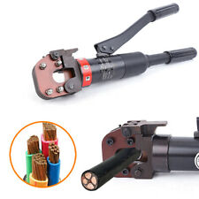 Hydraulic Cable Cutter Steel Wire Rope Copper Aluminum Cutting Tools 6t 420mm Us