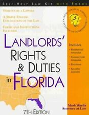 Landlords' Rights & Duties in Florida: With Forms (Legal Survival Guides)