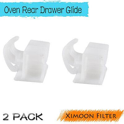 Kenmore Sears White Oven Stove Range Rear Drawer Glide 30511633012699 AP2121518
