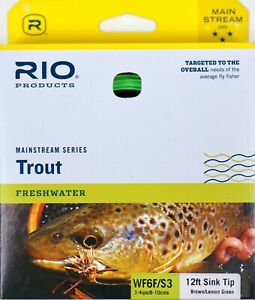 Rio-Mainstream-Sink-Tip-Trout-Fly-Line-WF6F-S3-FREE-SHIPPING