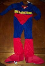Old Navy DC Comics CHILDREN'S SUPERMAN COSTUME Size LARGE NEW