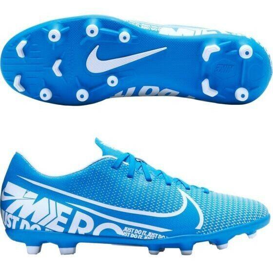 NIKE Mercurial Vapor 13 Club MG Soccer Football cleats Blue Men US 7/Women  8.5