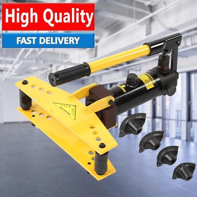 Exhaust Tubing Bender >> Hydraulic Pipe Bender Tube Bending Manual Heavy Duty Exhaust Pipe Tubing Machine Ebay