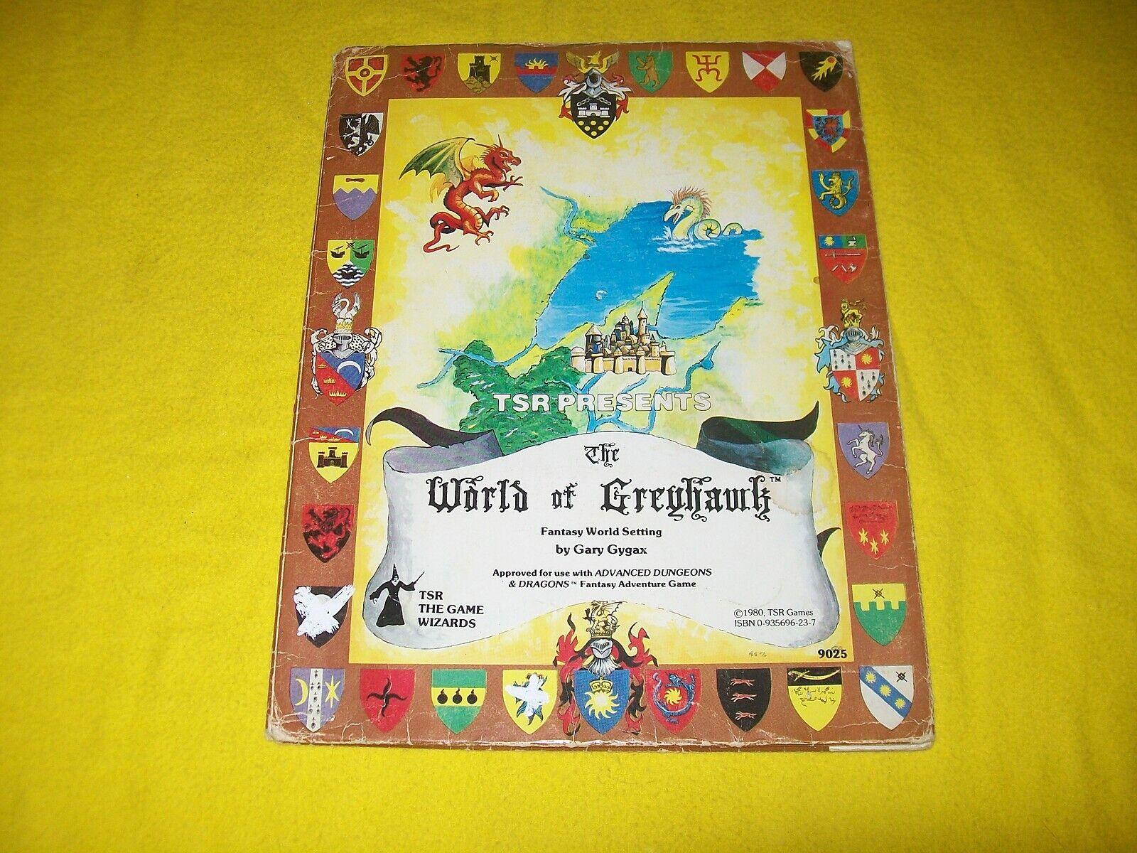 El mundo de grishawk mundo de fantasía ajuste Folio Dungeons & Dragons AD&D 9025 1