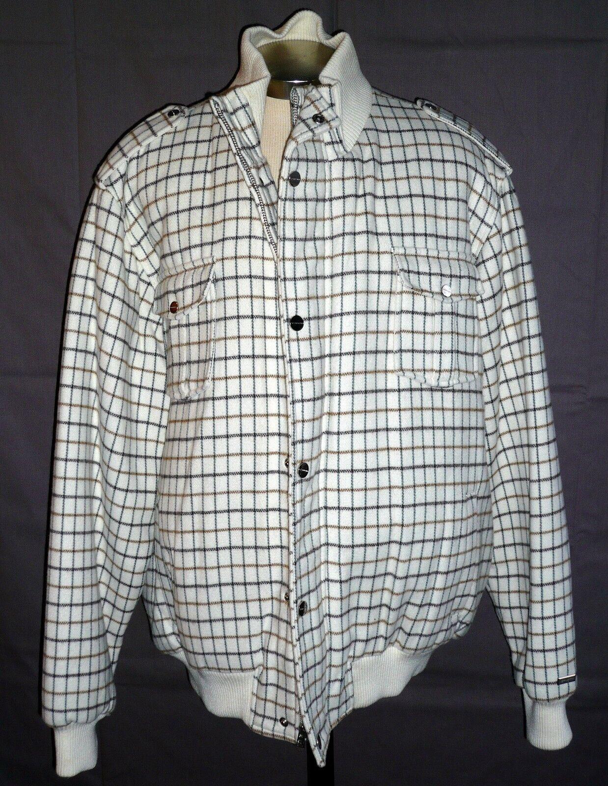 Men's Sean John Wool & Acrylic Coat Size is 3XL