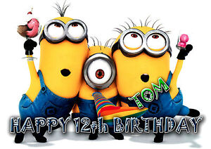 Personalised Birthday Card  Despicable Me  MINION  MINIONS  Any Name amp Age - <span itemprop=availableAtOrFrom>London, United Kingdom</span> - Returns accepted Most purchases from business sellers are protected by the Consumer Contract Regulations 2013 which give you the right to cancel the purchase within 14 days after the day y - London, United Kingdom