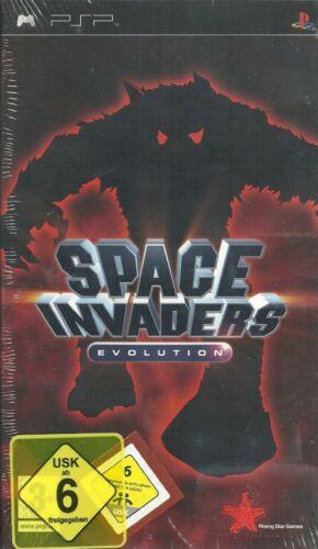 1 von 1 - Space Invaders: Evolution PSP Neu & OVP
