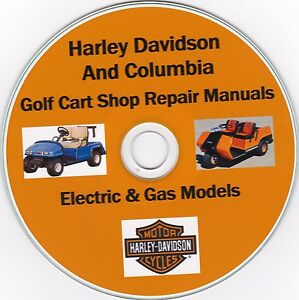 image is loading harley-davidson-amp-columbia-golf-cart-1963-2003-