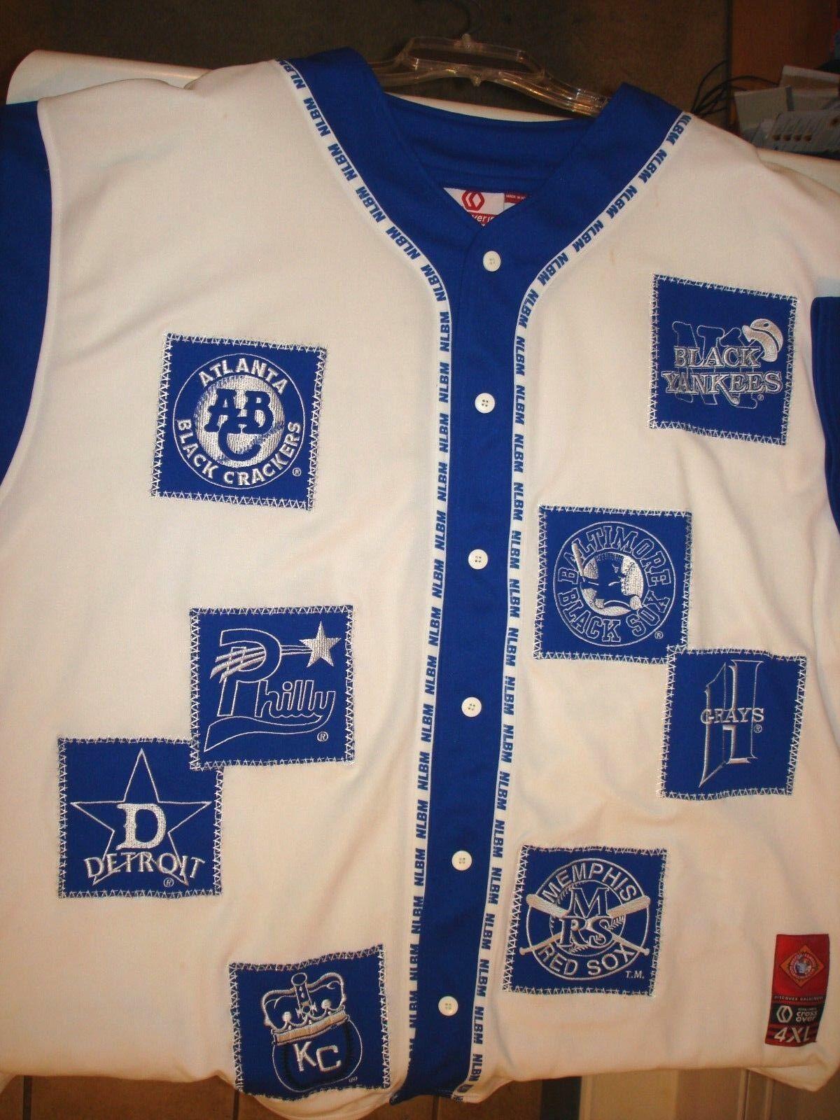 Vintage black League sports jersey 4 XL