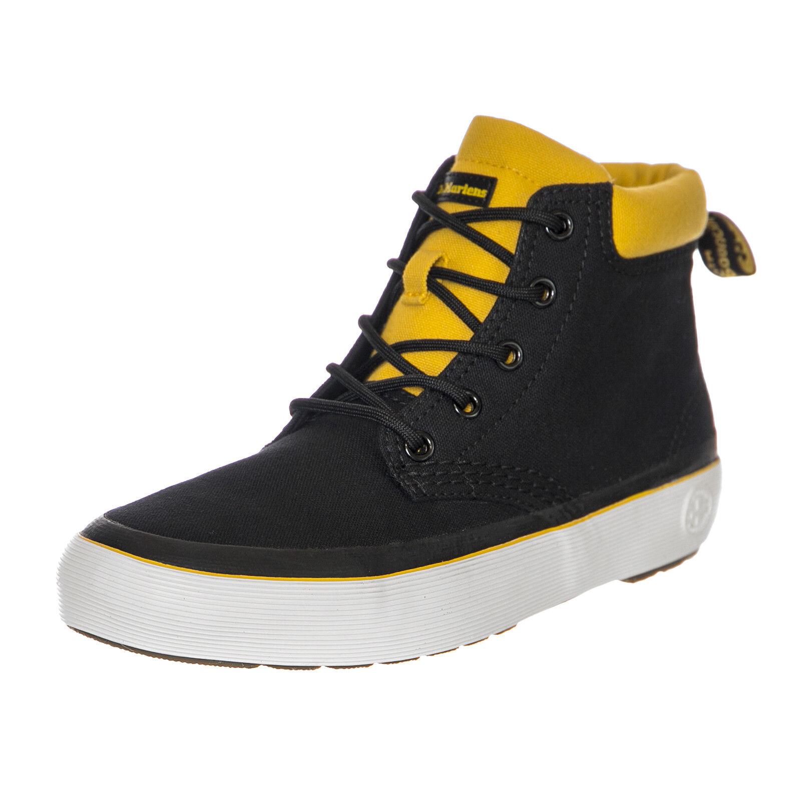 Tienda 2018 Dr.Martens zapatillas Allana negro negro negro  amarillo Canvas negro  caliente