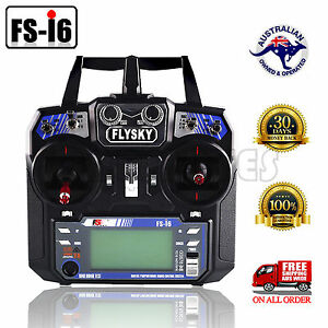 Details about FS-I6 Flysky 2 4G 6CH Transmitter & Receiver For RC Plane  Helicopter Multicopter
