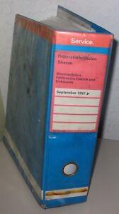 Werkstatthandbuch Elektrik Vw Sharan I Typ 7m8 Elektrische Schaltpläne Ab 9/1997 Sachbücher