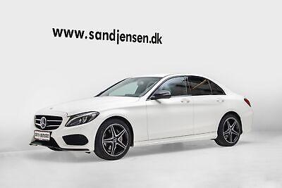Annonce: Mercedes C200 2,0 AMG Line aut. - Pris 399.900 kr.