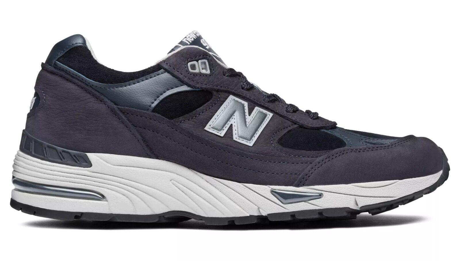 New balance uk 991 npn in uk balance scarpa lifestyle sneaker  Herren pelle Blau marine 9917a2