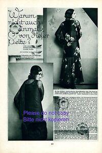 Mode 20er Rapport Annuel 1930 Tala Birell & René Peter Vienne Dos Fente +-afficher Le Titre D'origine Couleur Rapide