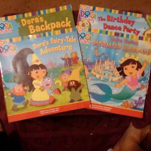 Details about Dora The Explorer Nick Jr. Books(partial set)
