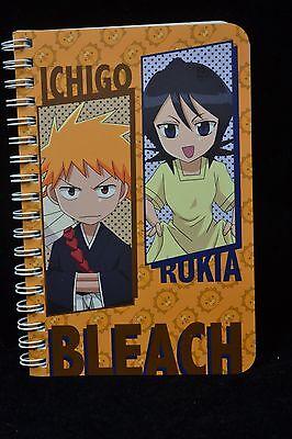 Bleach Pocket Size Notebook Ichigo & Rukia