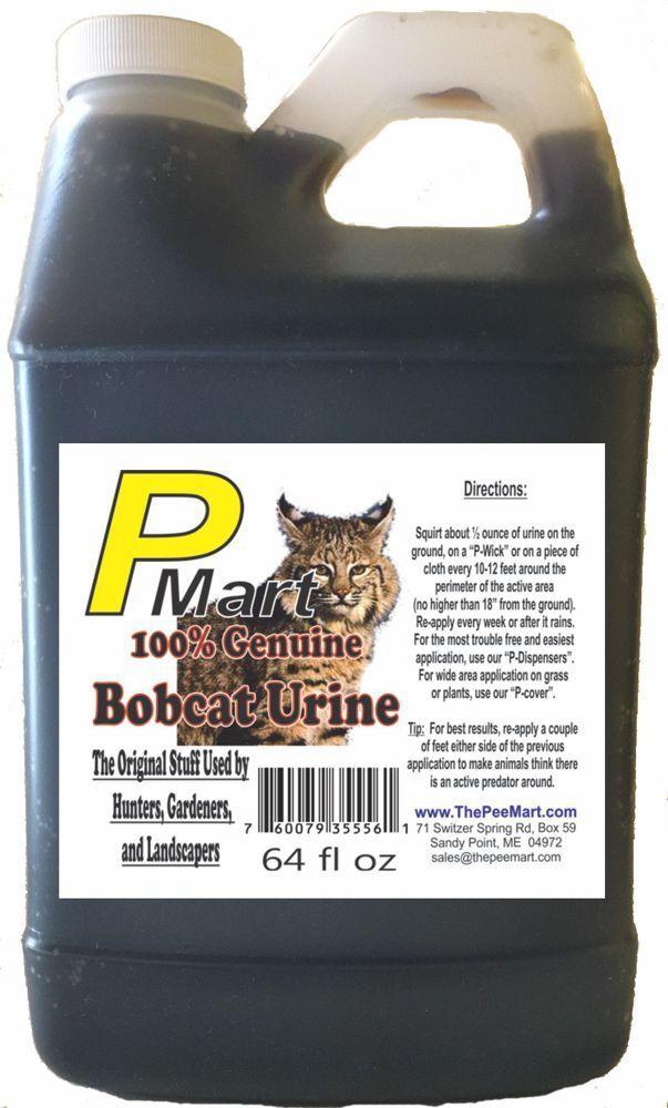 La orina Pee Mart-Bobcat 64 oz a granel relleno  envío Gratis