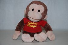 "Gund CURIOUS GEORGE 11"" Stuffed Plush Doll, Universal Studios, Gently Used"