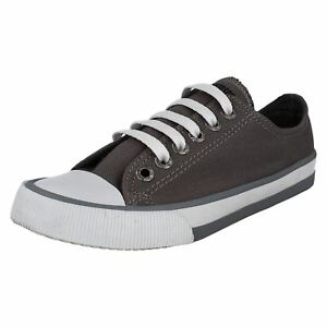 77c9259465ea Details about LADIES HARLEY DAVIDSON ZIA LACE UP CANVAS SNEAKERS CASUAL  SHOES