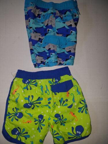 Arizona Jean Co Infant Toddler Boys Board Short Swim Trunks Size 2T  NWT UPF 50