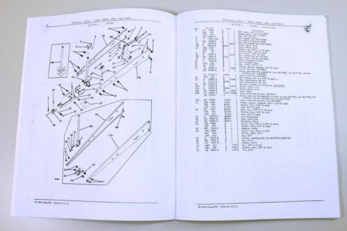 Business & Industrial PARTS MANUAL FOR JOHN DEERE 494 494A 495 ...