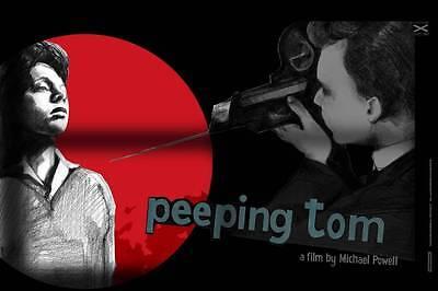 PEEPING TOM LIMITED EDITION SCREEN PRINT POLISH FILM POSTER SWAVA HARASYMOWICZ
