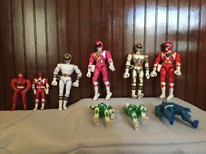 Power Rangers Vintage Lot and Power Ranger Childs Hat