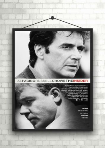 The Insider Pacino Crowe Classic Large Movie Poster Print Maxi A1 A2 A3 A4