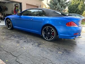 2007 BMW 650I CONVERTIBLE