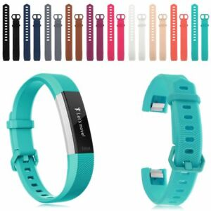 Replacement-Silicone-Classic-Strap-Bracelet-Band-For-Fitbit-Alta-HR-Wristband-AU