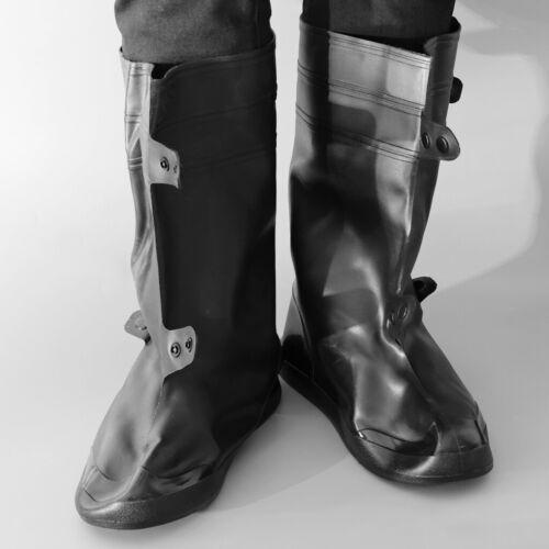 Rutschfester und Wiederverwendbar Wasserdicht Schuhüberzieher aus PVC