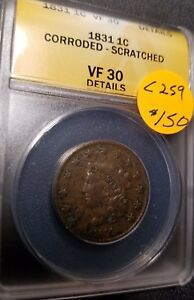 1831-Certified-Classic-Head-Large-Cent-VF30-C259