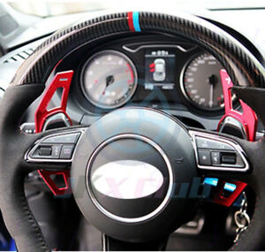 Set-Shift-Paddle-DSG-Steering-Wheel-Shifter-o-For-Audi-S3-S5-S6-A3-A5-A6L-A7-A8