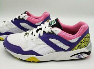 Details about Puma Trinomic R698 Violet Purple White Fluorescent Pink Men's  Size 12