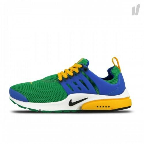 NIKE AIR PRESTO ESSENTIAL  GREEN   blueeE   YELLOW  848187 300