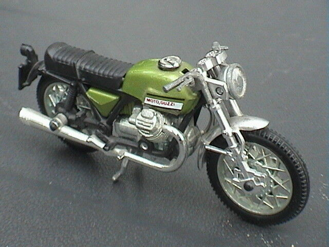 Moto Moto Guzzi Modèle Antique 1970