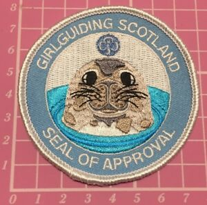 Girl Guides Patch Limited Edition. Guiding Brownie Guide Camp Blanket Badge