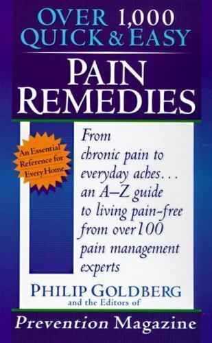 Pain Remedies by Philip Goldberg