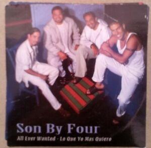 Son By Four – All Ever Wanted (Lo Que Yo Más Quiero) cd single