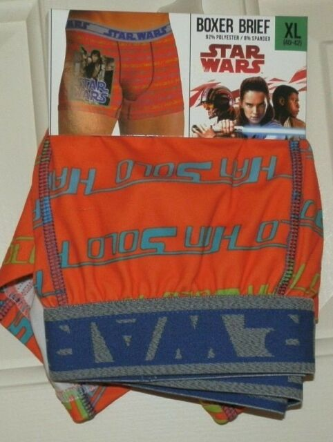 239c38315ec5 Mens Small 28-30 Star Wars Han Solo Boxer Brief Polyester/spandex | eBay
