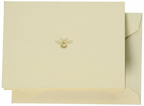 Hand Engraved Bee Note and envelope Combo RF1405 (Set of 30) Topselling